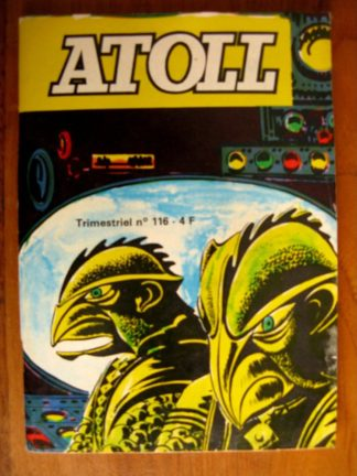 ATOLL N°116 Les Aquanautes (JEUNESSE ET VACANCES 1980)