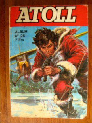 ATOLL ALBUM RELIE 26 (N°104-105-106) JEUNESSE ET VACANCES 1976