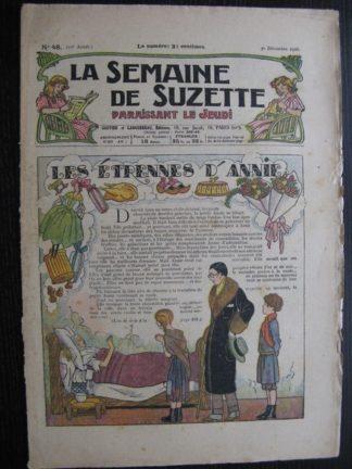 La Semaine de Suzette 22e année n°48 (30/12/1926) Bleuette