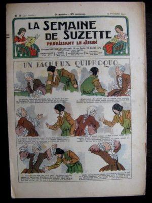 La Semaine de Suzette 32e année n°3 (19/12/1935) – Un fâcheux quiproquo