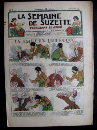 La Semaine de Suzette 32e année n°3 (19/12/1935) - In fâcheux quiproquos