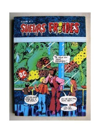 SUEURS FROIDES ALBUM N°1 (n°3,4) L'ETRANGE MALEDICTION (AREDIT DC 1982)