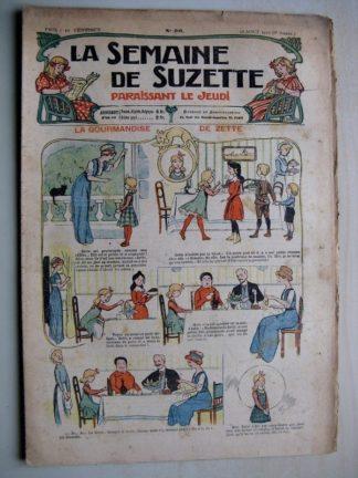 La Semaine de Suzette 6e année n°30 (1910) La gourmandise de zette (Guydo) Bleuette
