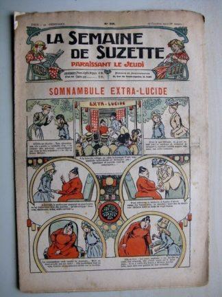 La Semaine de Suzette 6e année n°39 (1910) Somnambule extra-lucide