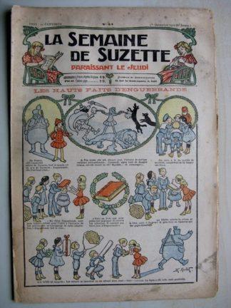 La Semaine de Suzette 6e année n°44 (1910) Hauts faits d'Enguerrande (Henri Avelot)