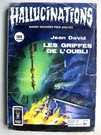 HALLUCINATIONS (Comics Pocket) n°43 - Les griffes de l'oubli (Jean David)