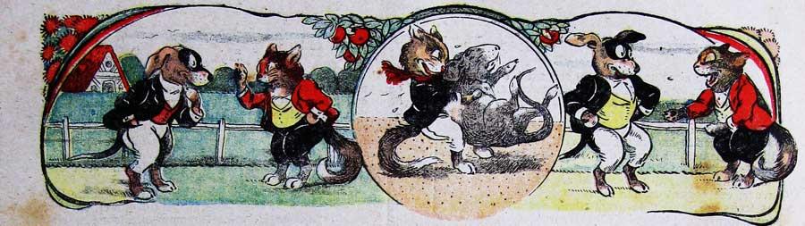 Jean d'Aurian illustrateur animalier de la Semaine de Suzette