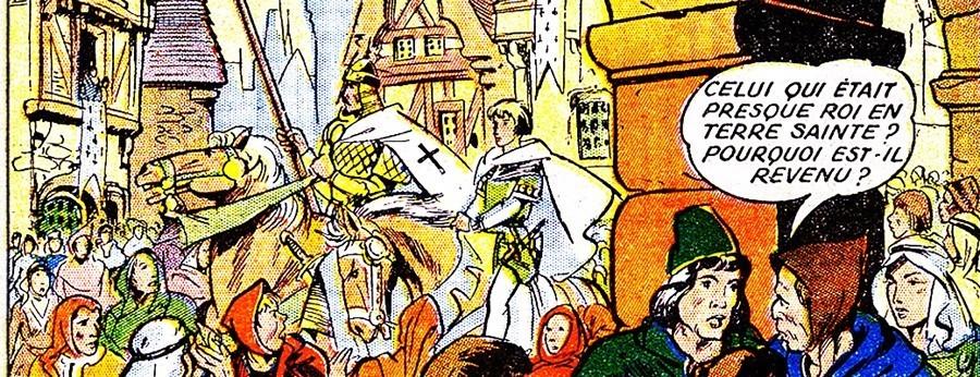 Thierry de Royaumont, la saga médiévale de Bayard