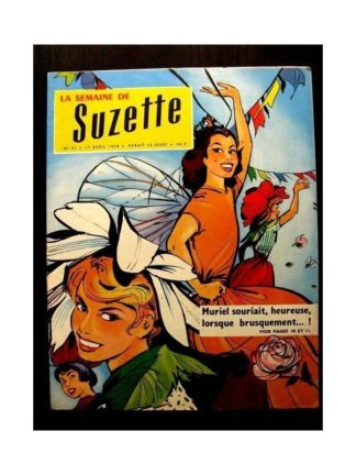 LA SEMAINE DE SUZETTE 49e année (1958) N°21 BATAILLE DE FLEURS