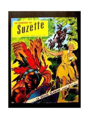 LA SEMAINE DE SUZETTE 49e année (1958) N°23 LA DEESSE BLANCHE