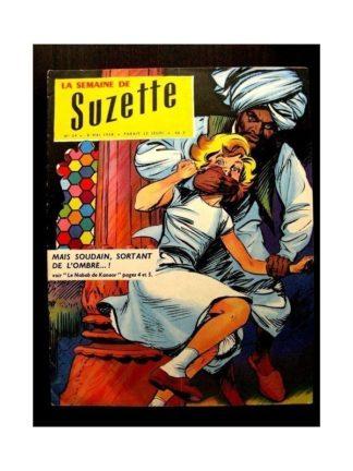 LA SEMAINE DE SUZETTE 49e année (1958) N°24 LE NABAB DE KANAOR