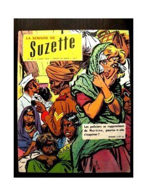 LA SEMAINE DE SUZETTE 49e année (1958) N°28 LE NABAB DE KANAOR (Bambino)