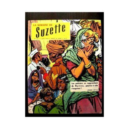 LA SEMAINE DE SUZETTE 49e année (1958) N°28 LE NABAB DE KANAOR