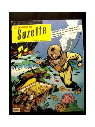 LA SEMAINE DE SUZETTE 49e année (1958) N°29 L'HEROISME DE IYNA