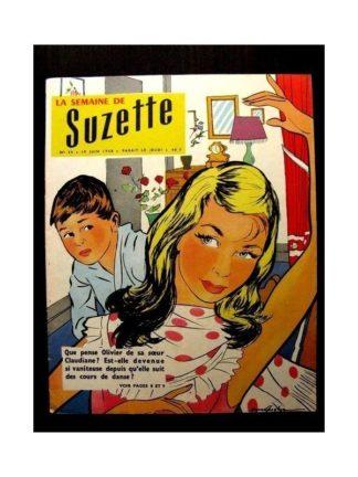 LA SEMAINE DE SUZETTE 49e année (1958) N°30 X.T.1. SATELLITE