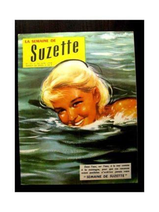 LA SEMAINE DE SUZETTE 49e année (1958) N°31 LA PETITE MONTREUSE D'OURS