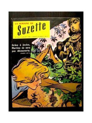 LA SEMAINE DE SUZETTE 49e année (1958) N°32 LE NABAB DE KANAOR (BLEUETTE)