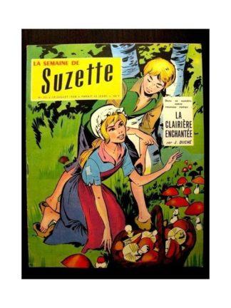 LA SEMAINE DE SUZETTE 49e année (1958) N°33 LA CLAIRIERE ENCHANTEE