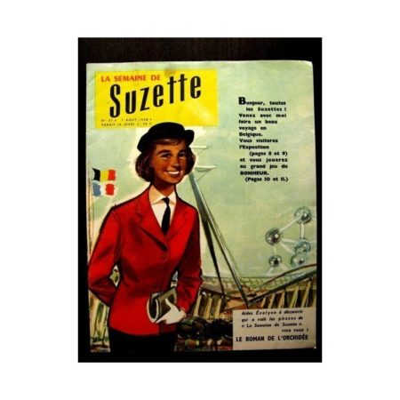 LA SEMAINE DE SUZETTE 49e année (1958) N°37 LE NABAB DE KANAOR (Bambino)