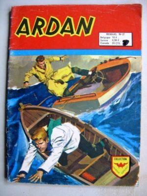 ARDAN (2e série) N°27 Le trésor de Monte Cristo – AREDIT 1974