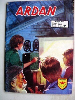 ARDAN (2e série) N°37 – 7 garnements et une caméra – AREDIT 1975