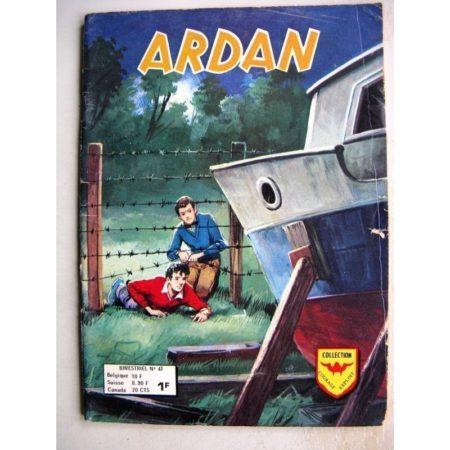 ARDAN N°41 DES RECHERCHES PLUS POUSSEES