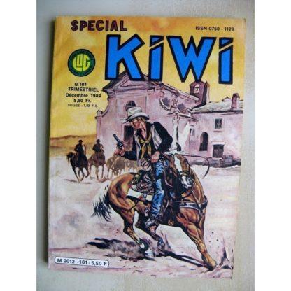 SPECIAL KIWI N°101 Blue soldier - La mort de Pashint