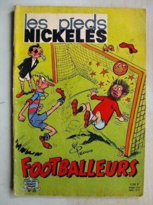 LES PIEDS NICKELES FOOTBALLEURS – ALBUM N°28 (SPE 1964)