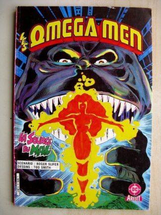 Omega Men n°4 La source du Mal (Aredit DC 1985)