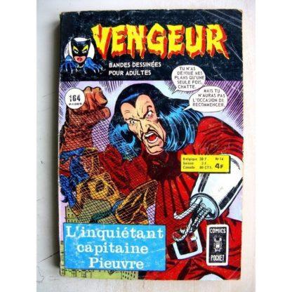 Vengeur 2e série n°14 La Chatte - Inquiétant Capitaine Pieuvre