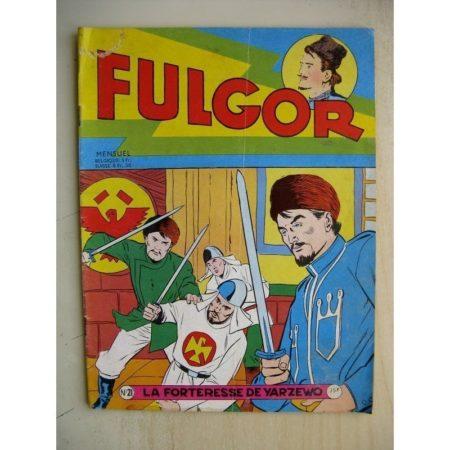 FULGOR N°21 La Forteresse de Yarzewo (Artima 1956)