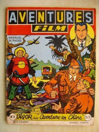 AVENTURES FILM N°3 Vigor - Aventure en Chine (Artima 1954)