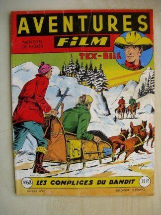 AVENTURES FILM N°62 Tex Bill - Les complices du bandit (Artima 1957)