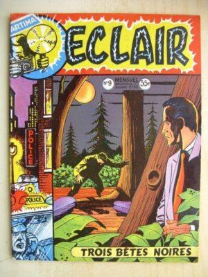 ECLAIR N°9 Angel Audaz – Trois bêtes noires (Artima 1957)