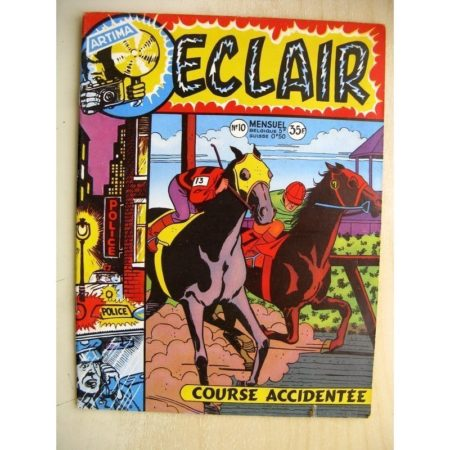 ECLAIR N°10 Angel Audaz - Course accidentée (Artima 1957)