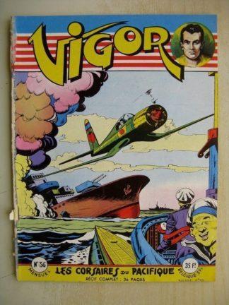 VIGOR N°36 Les corsaires du pacifique (Artima 1956)