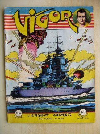 VIGOR N°37 L'Agent Secret (Artima 1957)