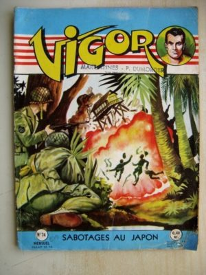 VIGOR N°74 Sabotages au Japon (Artima 1960)