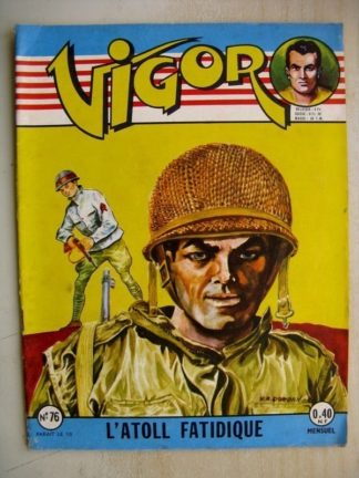 VIGOR N°76 L'Atoll fatidique (Artima 1960)
