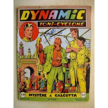 DYNAMIC N°44 Toni Cyclone - Mystère à Calcutta (Artima 1956)