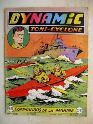 DYNAMIC N°51 Toni Cyclone – Commandos de la Marine (Artima 1956)