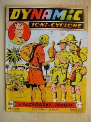DYNAMIC N°54 Toni Cyclone – L'Alcarazas truqué (Artima 1957)