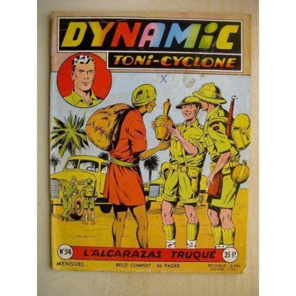 DYNAMIC N°54 Toni Cyclone - L'Alcarazas truqué (Artima 1957)