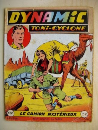 DYNAMIC N°57 Toni Cyclone - Le camion mystérieux (Artima 1957)