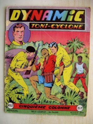 DYNAMIC N°63 Toni Cyclone – Cinquième Colonne (Artima 1957)