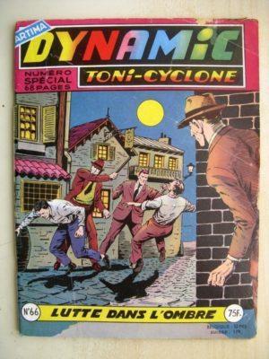 DYNAMIC N°66 Toni Cyclone – Lutte dans l'ombre (Artima 1958)