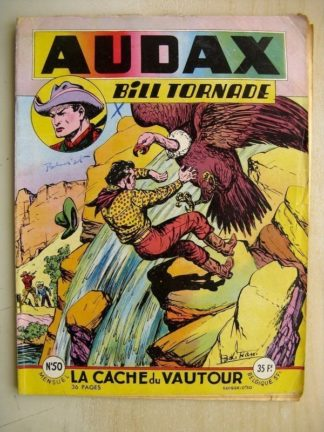 AUDAX N°50 BILL TORNADE - La cache du vautour (Artima 1956)