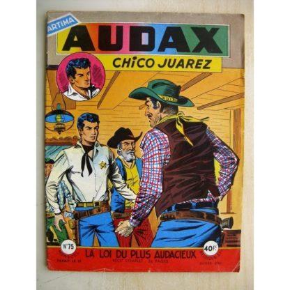 AUDAX N°74 Chico Juarez - Paradis City (Artima 1959)