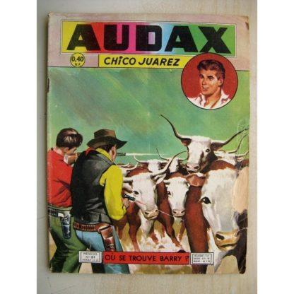 AUDAX N°91 Chico Juarez - Où se trouve Barry? (Artima 1960)