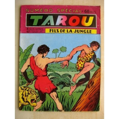 TARAOU FILS DE LA JUNGLE Numéro spécial - Le maître des tigres (Artima 1957)